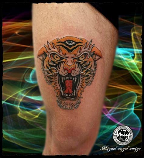 tattoo old school tigre significato tigre old school