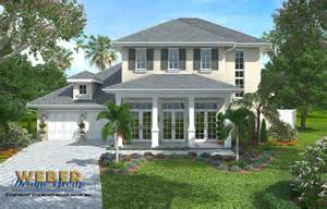 French Colonial House Plans french colonial home plan weston home plan weber design group