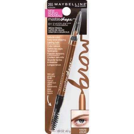Maybelline Eyebrow Kit maybelline eye studio master shape brow pencil walmart
