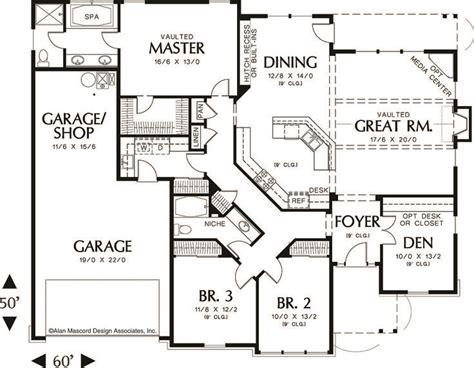 craftsman home plans 2000 square feet 25 best ideas about rambler house plans on pinterest