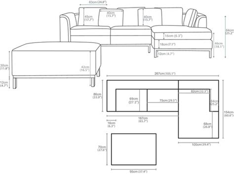how to measure sofa dimensions sectional sofa design sectional sofa dimensions standard