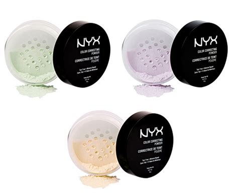 Correcting Powder new nyx color correcting powders the budget