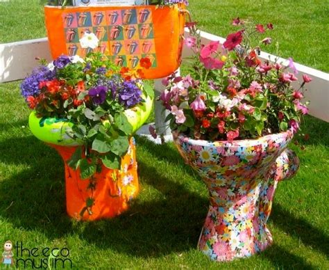 Recycling Garden Ideas Easy And Cheap Diy Garden Projects To Dress Up Your Garden Recycled Things