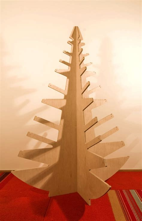 plywood christmas tree by build llc design milk