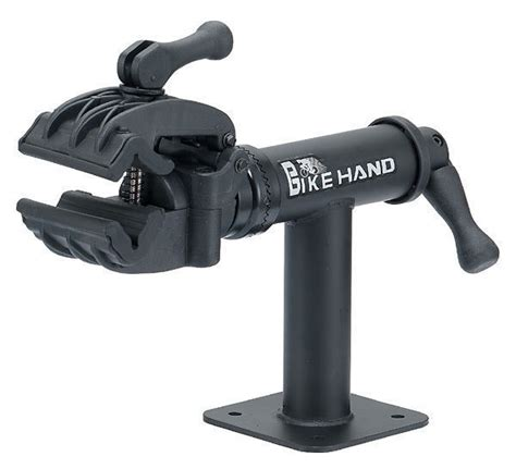 bench mount bicycle repair stand bikehand bicycle bike bench mount repair rack stand ebay