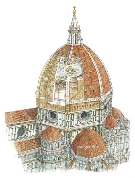 firenze cupola la cupola di brunelleschi firenze formato piccolo