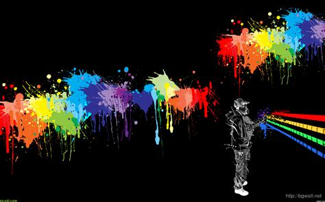 wallpaper or paint abstract colorfull spray paint wallpaper background