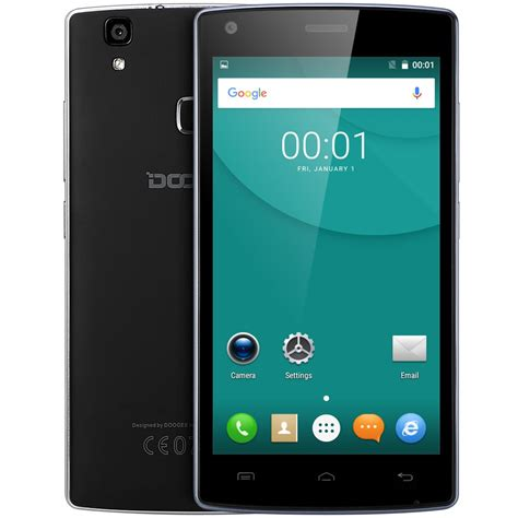 android 5 0 phones original doogee x5 max pro smartphone 5 0 inch android 6 0 mtk6737 1 3ghz 2g 16g