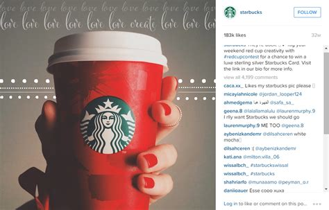 Starbucks Giveaway Instagram - marketing on instagram 3 strategies to get noticed