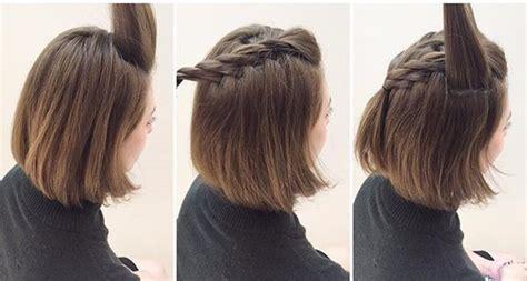 peinados paso a paso pelo corto www pixshark com de 50 peinados con trenzas 2017