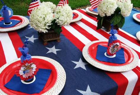 4th of july table july 4th party ideas skip to my lou