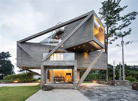 European Style House Plans arquiteto coreano cria casa que parece presa 224 uma teia de