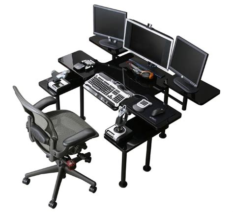 best gaming pc desk the best gaming computer desk gamers hangout neowin