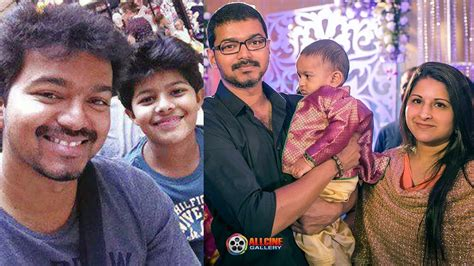 actor vijay daughter recent photos actor vijay family photos with wife sangeetha son sanjay