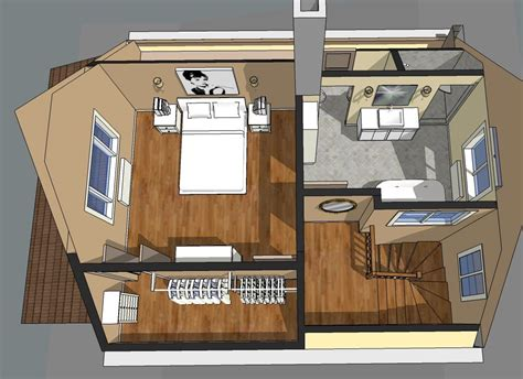 house with attic floor plan project master bedroom suite on pinterest loft