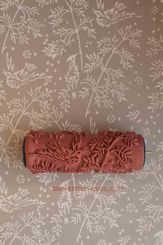 no 260 patterned paint roller from deerblue by deerbluedesign patterned paint roller in petite damask design and