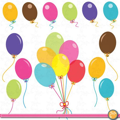 clipart palloncini balloons clip colorful balloons clip by