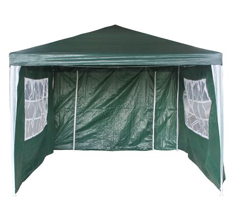 4m awning waterproof green 3m x 4m outdoor garden gazebo party tent