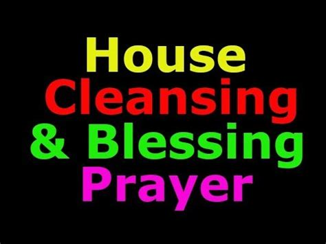 house cleansing prayer 6 hour spiritual house cleansing by brother carlos healing prayers series