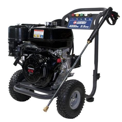 cbell hausfeld pw4035 4 000 psi 3 5 gpm gas pressure washer power tools 4 gardens