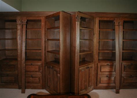 secret bookcase doors stashvault