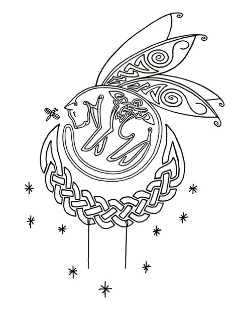celtic cat tattoo designs celtic fae cat by cheshire ravyn on deviantart