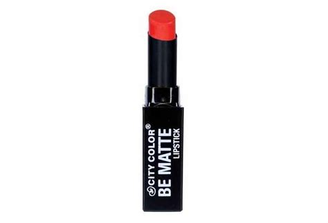 city color matte lipstick review city color be matte lipstick til cantik