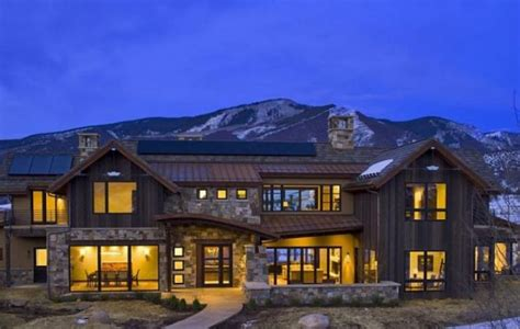 home plans colorado colorado s vision house aspen is both gorgeous and green