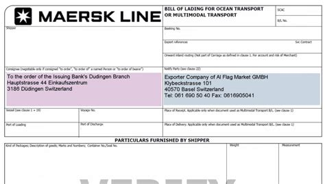 Letter Of Credit Consignee Bank How To Complete Consignee And Notify Fields Of A Bill Of Lading Advancedontrade Export