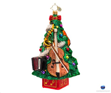 christopher radko tree ornaments christopher radko tree tunes ornament