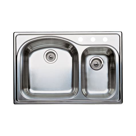 blanco 440171 3 wave 3 basin drop in kitchen