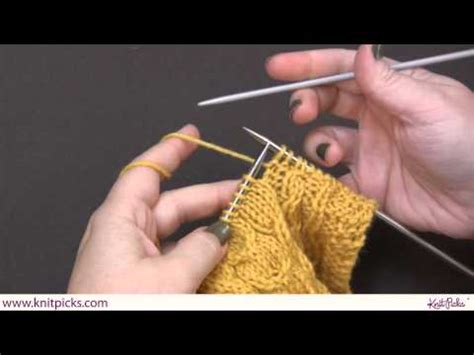 knit picks cables how to cable for beginners knit picks tutorials