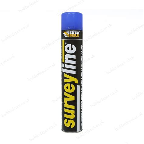 spray paint website everbuild surveyline site spray paint 700ml blue