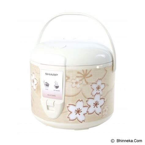 Rice Cooker 18 L Sharp Ksn18me Produk Terlaris jual rice cooker sharp rice cooker ks r18ms br harga murah awet tahan lama