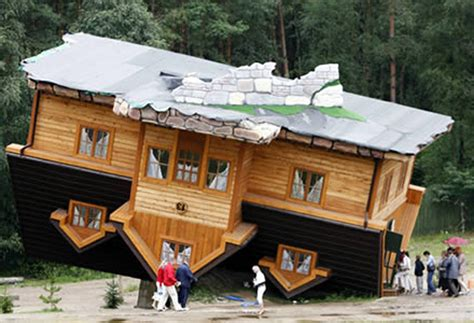 upside down house poland 17 of the world s most bizarre houses rum and monkey