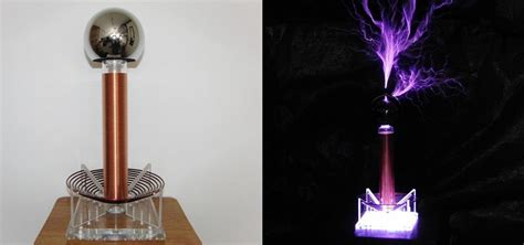 Diy Tesla Coil This Diy Mini Tesla Coil Packs 380 000 Volts Of Lightning