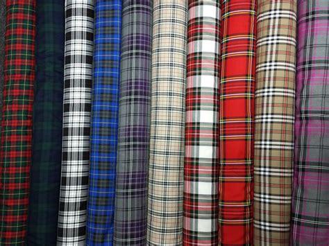 Tartan Fabrics For Upholstery by Tartan Plaid Check Craft Quilting Designer Curtain