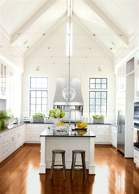 kitchen without wall cabinets best 20 vaulted ceiling decor ideas on
