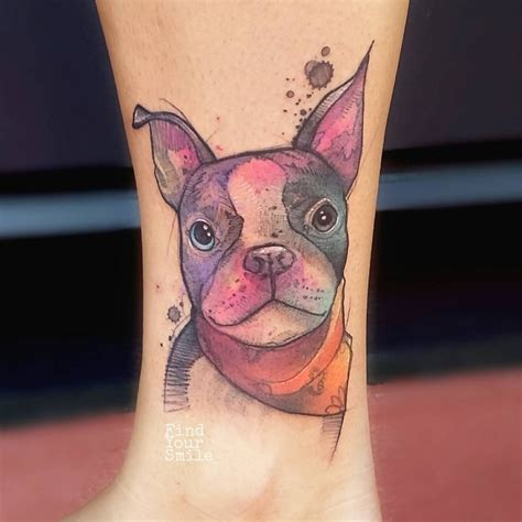 watercolor tattoo dog 59 brilliant reasons to get watercolor tattoos tattoomagz