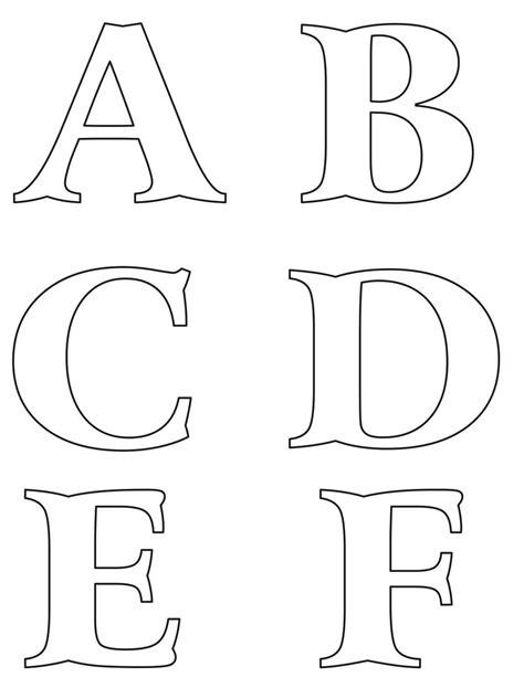 moldes de letras del abecedario para carteleras molde de letras buscar con google molde de letras