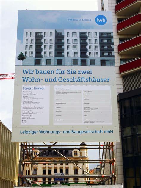 Bauschild Leipzig by Bauschilder Schrift Signet Werbung Leipzig