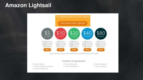 amazon lightsail introduction to amazon ec2