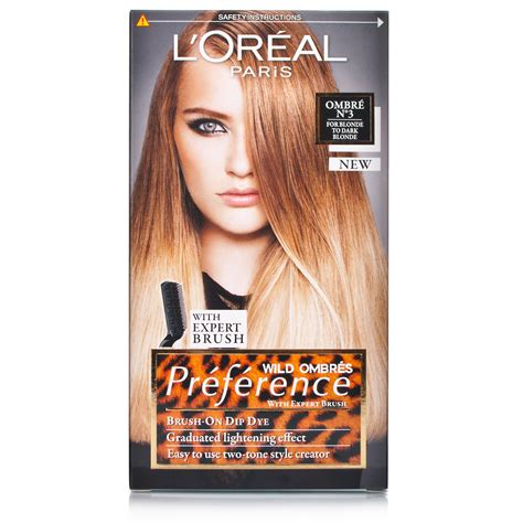 Loreal Ombre l or 233 al recital preference ombre to