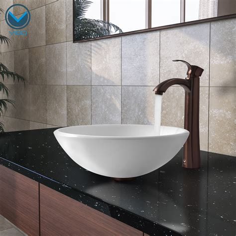 Bathroom Bowl Sink Vigo Industries Announces The New Glass Vessel Bathroom Sink