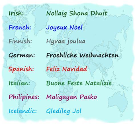 merry christmas   languages kumpulan gambar