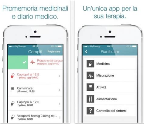 my to be a therapy mytherapy promemoria e diario per medicine e non iphone italia