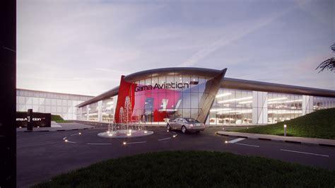 design concept sharjah gama aviation unveils sharjah fbo concept designs