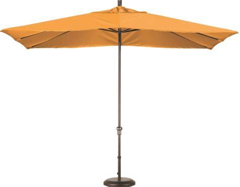 Rectangular Aluminum Sunbrella A Patio Umbrella   11'x8'