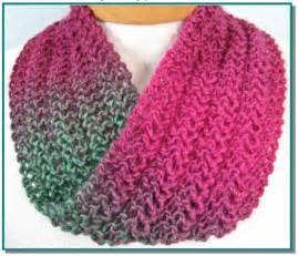 Knit Infinity Scarf Patterns Lace Knitting Patterns A Knitting