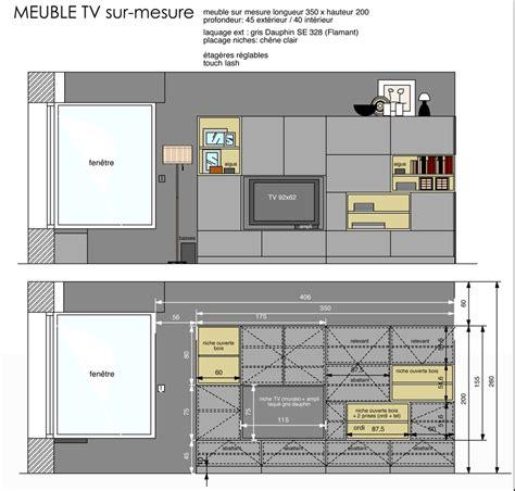 Meuble Tv Sur Mesure 250 by Meuble Tv Sur Mesure Meuble Tv Sur Mesure Belgique Id Es